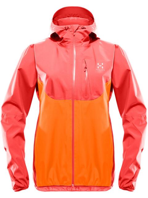 Haglöfs Gram Comp Jacket Women carnelia/tangerine